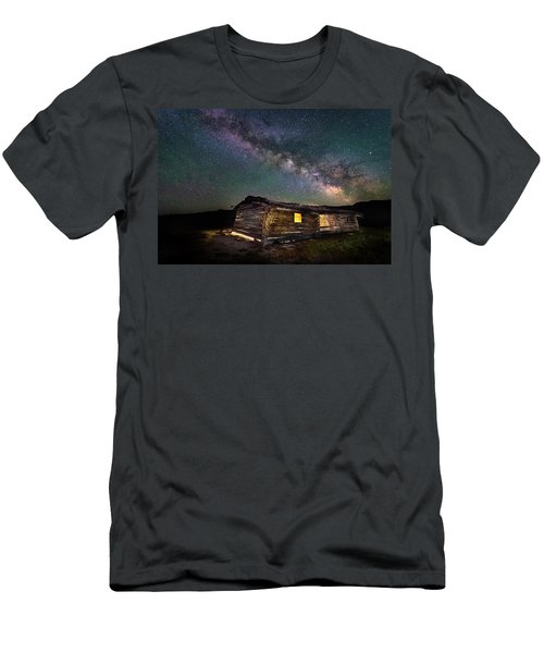 Cunningham Cabin After Dark Men's T-Shirt (Athletic Fit)