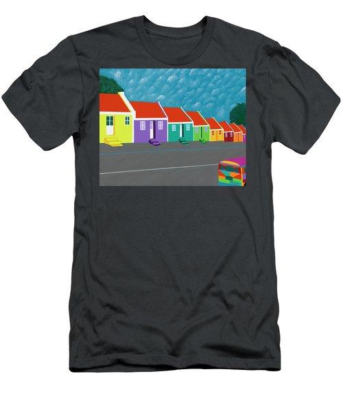 Curacao Dreams IIi Men's T-Shirt (Athletic Fit)