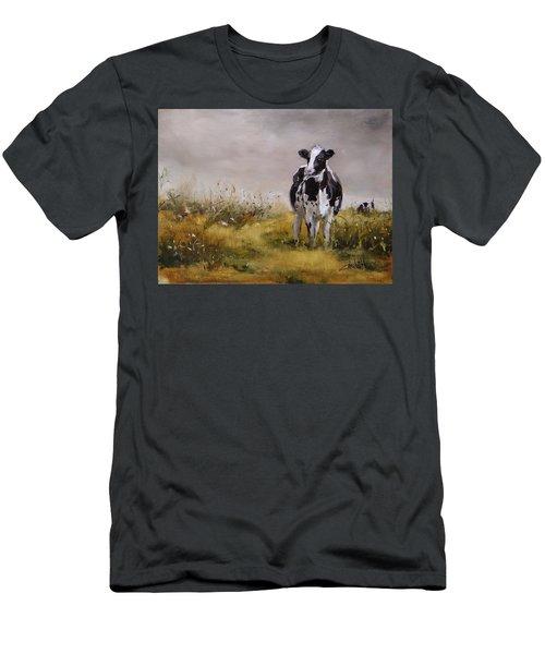 Curious Cow Men's T-Shirt (Athletic Fit)