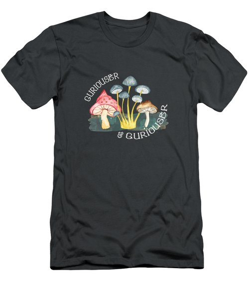 Curiouser And Curiouser Men's T-Shirt (Athletic Fit)