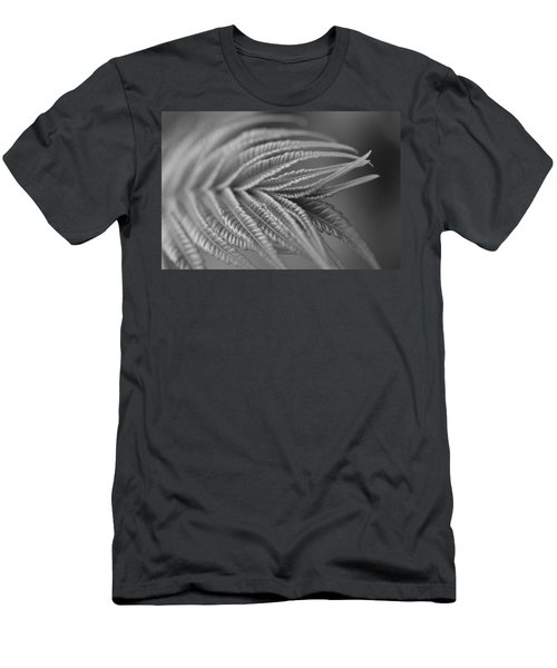 Curved Lines Men's T-Shirt (Slim Fit) by Janet Rockburn