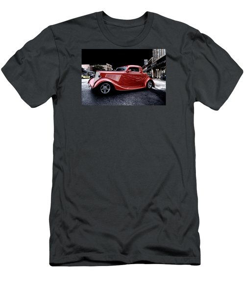 Custom Car On Street Men's T-Shirt (Athletic Fit)