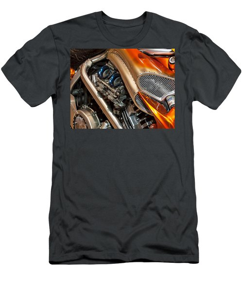 Custom Motorcycle Men's T-Shirt (Athletic Fit)