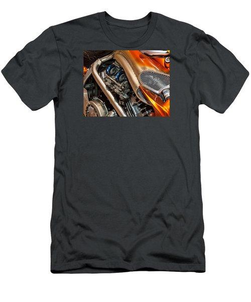Custom Motorcycle Men's T-Shirt (Athletic Fit)