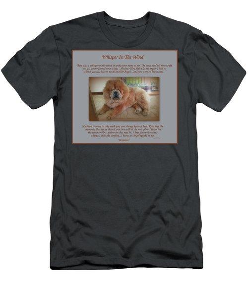 Custom Paw Print Benjamin Men's T-Shirt (Athletic Fit)