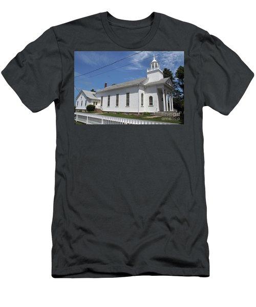 Cutchogue United Methodist Church Men's T-Shirt (Athletic Fit)