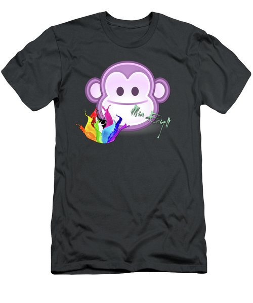 Cute Gorilla Baby Men's T-Shirt (Athletic Fit)