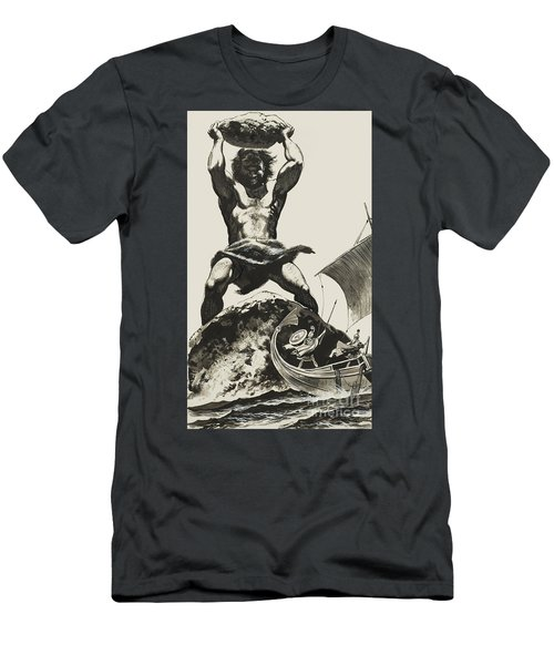 Cyclops Men's T-Shirt (Slim Fit) by Angus McBride