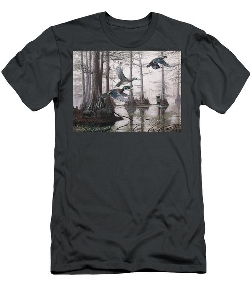 Cypress Bayou Neighbors Men's T-Shirt (Athletic Fit)