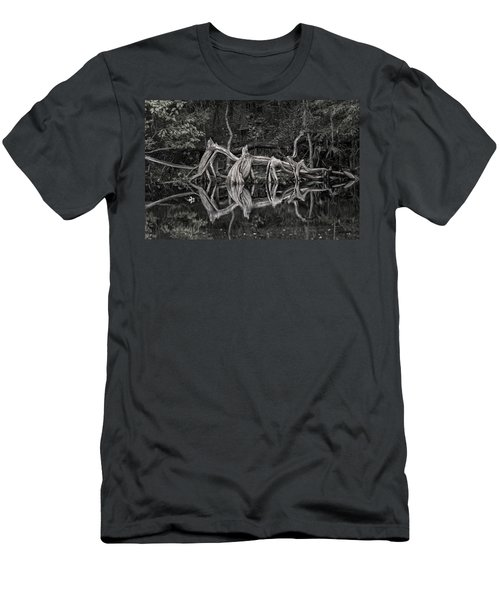 Men's T-Shirt (Athletic Fit) featuring the photograph Cypress Design by Steven Sparks