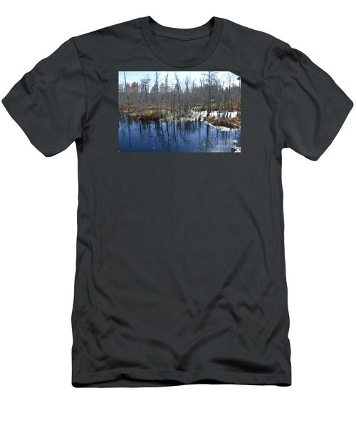 Cypress Swamp Men's T-Shirt (Slim Fit) by Gordon Mooneyhan