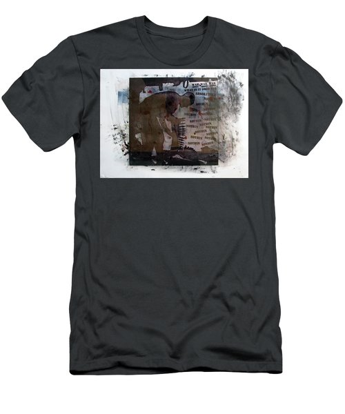 D U Rounds Project, Print 1 Men's T-Shirt (Athletic Fit)