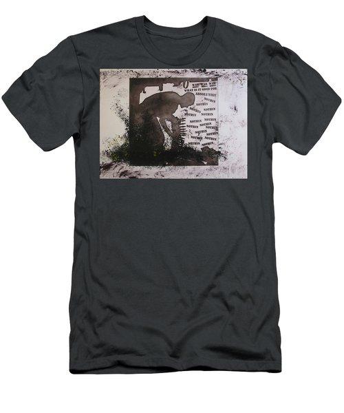 D U Rounds Project, Print 13 Men's T-Shirt (Athletic Fit)