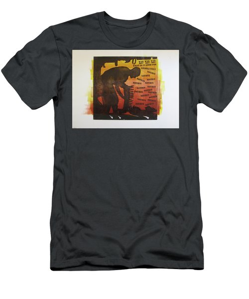 D U Rounds Project, Print 18 Men's T-Shirt (Athletic Fit)