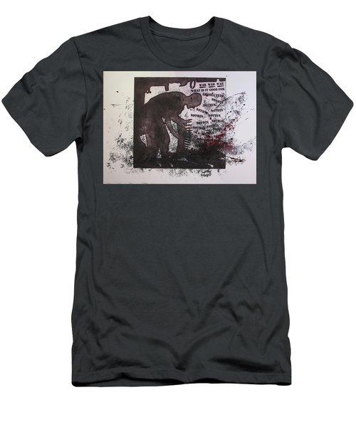 D U Rounds Project, Print 40 Men's T-Shirt (Athletic Fit)