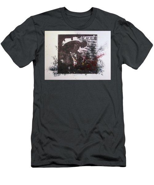 D U Rounds Project, Print 41 Men's T-Shirt (Athletic Fit)
