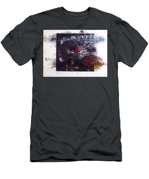 D U Rounds Project, Print 7 Men's T-Shirt (Athletic Fit)