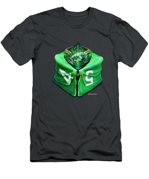 D6 Dragon Dice Men's T-Shirt (Athletic Fit)