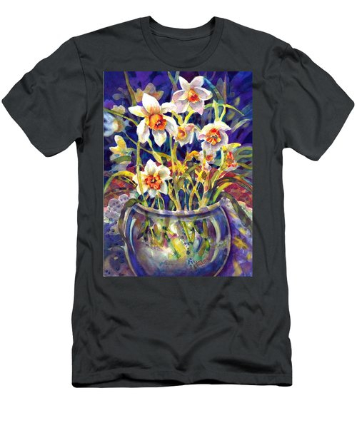 Daffodils And Lace Men's T-Shirt (Athletic Fit)