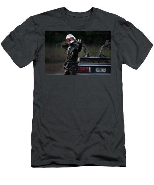 Daft Punk Men's T-Shirt (Athletic Fit)