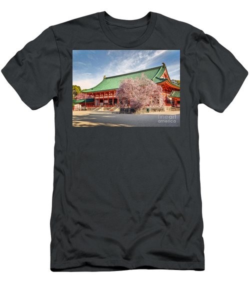 Daigukuden Main Hall Of Heian Jingu Shrine Men's T-Shirt (Athletic Fit)