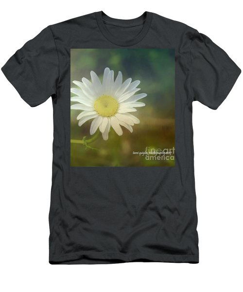 Daisies Don't Tell Men's T-Shirt (Athletic Fit)