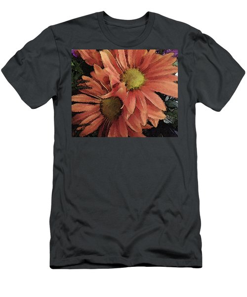 Men's T-Shirt (Slim Fit) featuring the photograph Daisy Bouquet by Donna G Smith