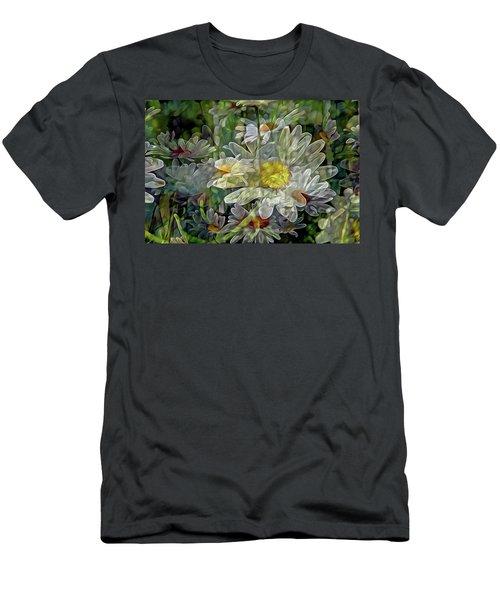 Daisy Mystique 8 Men's T-Shirt (Slim Fit) by Lynda Lehmann