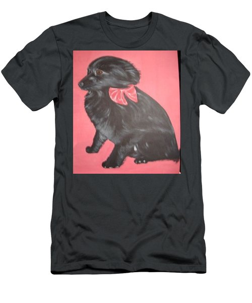 Daisy Scared Little Dog Men's T-Shirt (Athletic Fit)