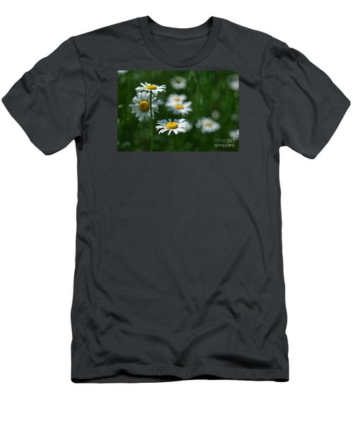 Men's T-Shirt (Slim Fit) featuring the photograph Daisy's by Alana Ranney