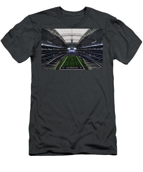 Dallas Cowboys Stadium End Zone Men's T-Shirt (Athletic Fit)