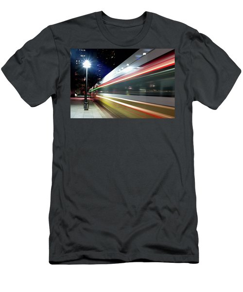 Dallas Dart Train 012518 Men's T-Shirt (Athletic Fit)