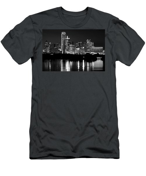 Dallas Nights Bw 6816 Men's T-Shirt (Athletic Fit)