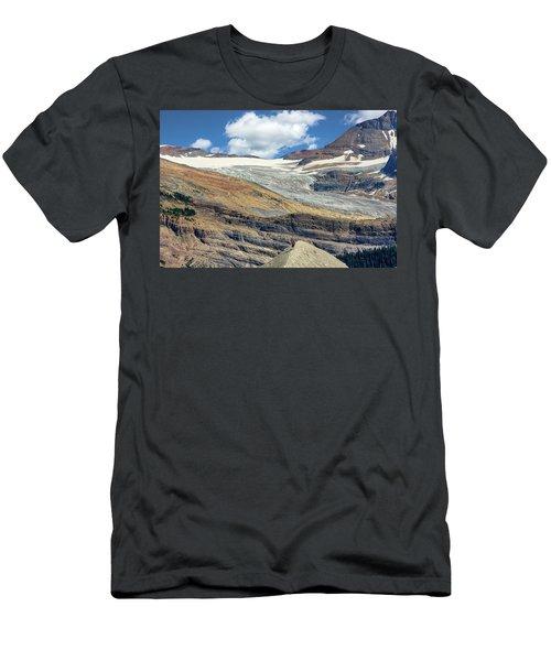 Daly Glacier And Yoho National Park Adventure Men's T-Shirt (Athletic Fit)