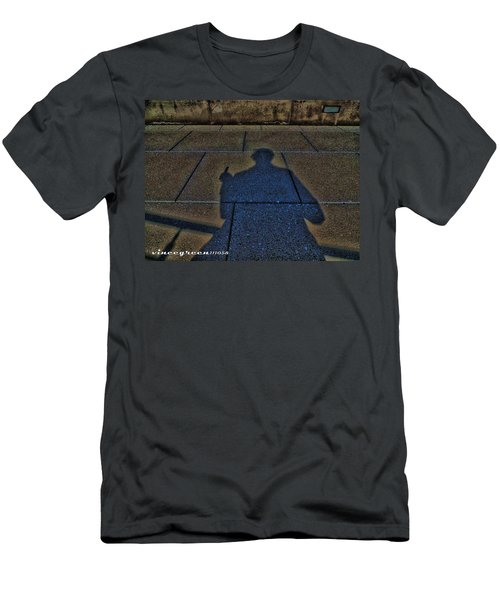 Damn Shadow Figure Men's T-Shirt (Athletic Fit)