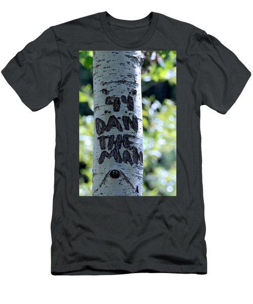 Dan The Man Men's T-Shirt (Athletic Fit)