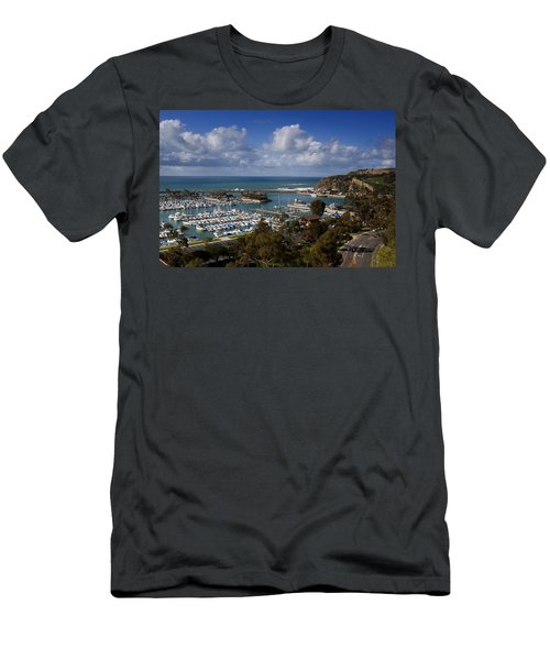 Dana Point Harbor California Men's T-Shirt (Athletic Fit)