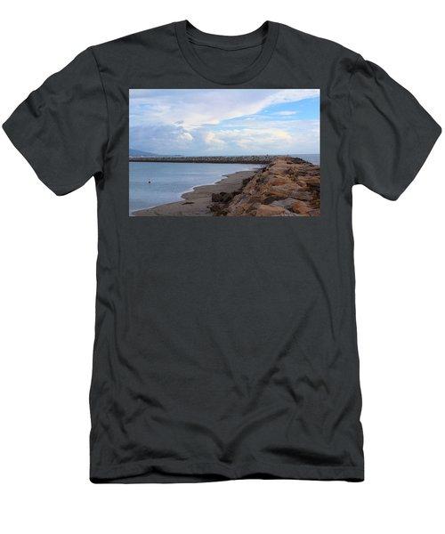 Dana Point  Men's T-Shirt (Slim Fit) by Viktor Savchenko