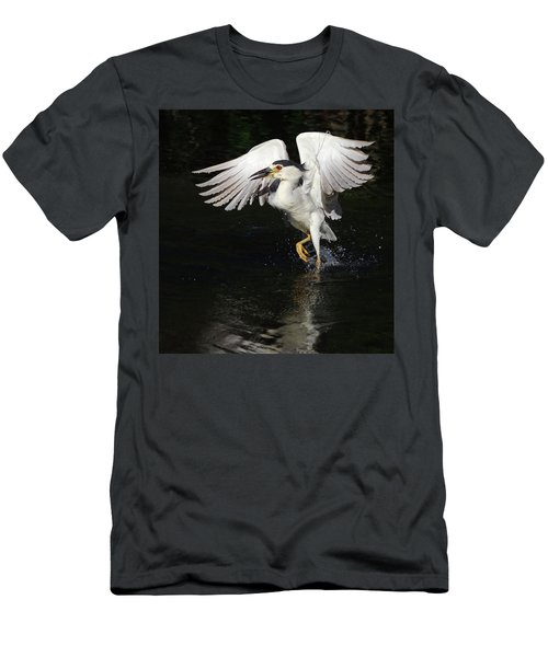 Dance On Water. Men's T-Shirt (Athletic Fit)