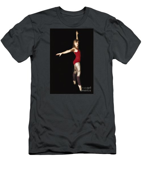 Dancer  No. 4 ... Men's T-Shirt (Slim Fit) by Chuck Caramella