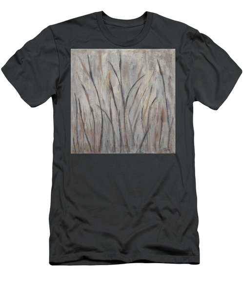 Dancing Cattails 2 Men's T-Shirt (Slim Fit) by Trish Toro