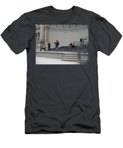 Men's T-Shirt (Athletic Fit) featuring the photograph Dancing In Golden Gate Park by Cynthia Marcopulos