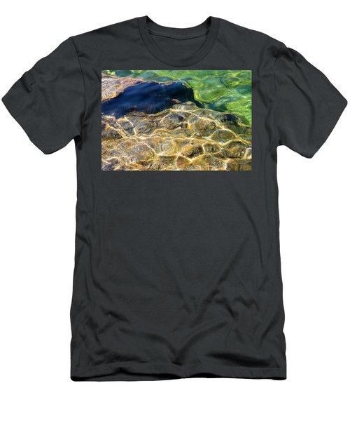 Dancing Light Men's T-Shirt (Athletic Fit)