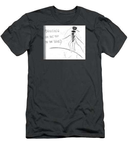 Dancing On The Top Of The World Men's T-Shirt (Athletic Fit)