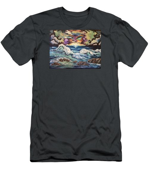 Dancing Skies 3 Men's T-Shirt (Slim Fit) by Cheryl Pettigrew