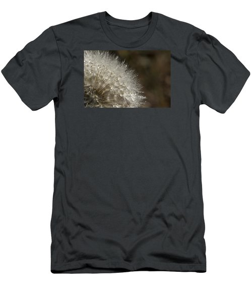 Dandelion Rain Men's T-Shirt (Slim Fit) by Shelly Gunderson