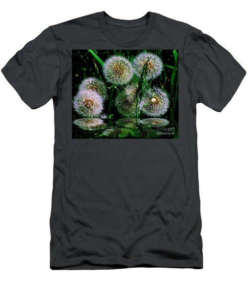 Men's T-Shirt (Slim Fit) featuring the photograph Dandies  by Elfriede Fulda