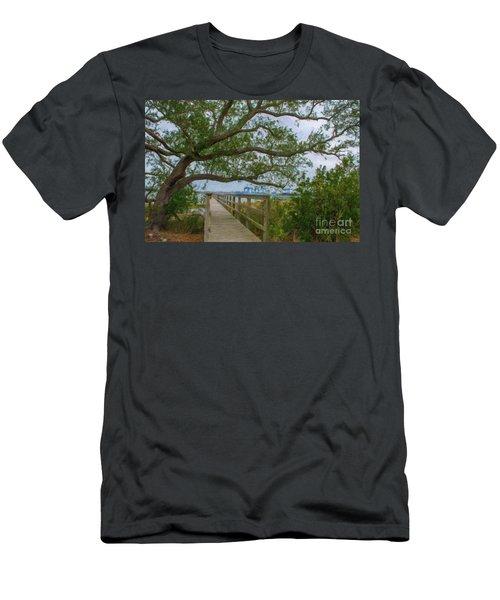 Daniel Island Time Men's T-Shirt (Athletic Fit)