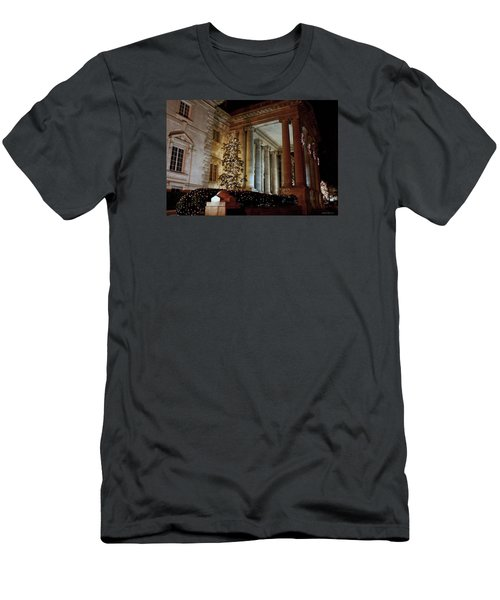 Dar Memorial Continental Hall Men's T-Shirt (Slim Fit) by Suzanne Stout
