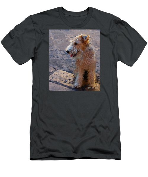 Men's T-Shirt (Slim Fit) featuring the photograph Darby by John Kolenberg